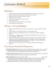 Resume Beautiful Musicacher Examples Private Sample Objective