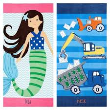 Pottery Barn Kids Beach Towels as low as 15