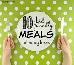 Kids will love helping to make these carefully chosen recipes, each includes steps they can tackle. 10 Kid Friendly Meals That Are Easy To Make