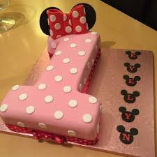 Cupcakes Minnie Mouse Birthday Cake 1st Ideas 2nd Pics