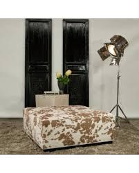 jar designs furniture. Simple Furniture JAR Designs U0027Dakotau0027 Tan Square Ottoman Faux Cow Hide Squared Ottoman For Jar Furniture F