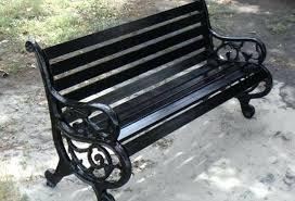 Top 37 Fabulous Woodard Wrought Iron Patio Furniture Vintage Bench