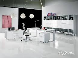 white office design. fascinating white black wall colors for modern office design with cabinet shelves and elegant