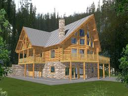 luxury a frame style two story with log cabin charm