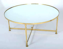 brass coffee table with glass top white contemporary round french vintage popular items and uk