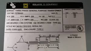 75kva three phase 208v delta to three phase 208v y transformer input wiring wiring diagram transformer three phase
