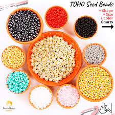 Seed Bead Size Chart Blog News What Is Toho Japanese Seed Beads Size