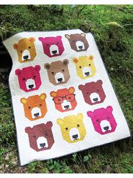 Pieced Baby & Kids Quilt Patterns - Bjorn Bear Quilt Pattern & Bjorn Bear Quilt Pattern Adamdwight.com