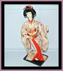 no box vine geisha doll an
