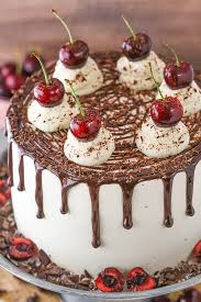 Black Forest Cake Easy Chocolate Cake Recipe With Cherry Liqueur