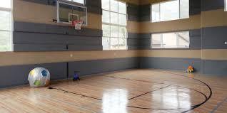 home basketball court design. Indoor Basketball Court Home Design L