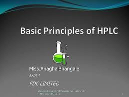 Hplc Principle Basic Principles Of Hplc Authorstream