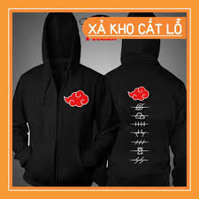 🔥SIÊU SALE🔥 [ KM khủng ] Áo khoác Akatsuki Naruto cực HOT khuyến mại  khủng giá rẻ dẹp, Giá tháng 1/2021