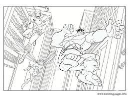 Select from 34389 printable crafts of cartoons, nature, animals, bible and many more. Iron Man Avec Hulk Superheros Coloring Pages Printable