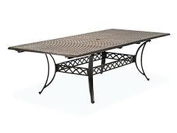 aluminum outdoor table aluminum patio dining table home furniture ideas cast aluminum patio dining table black