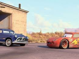 doc hudson. Delighful Doc Doc Hudson Left Voiced By Paul Newman Is Initially Inside T