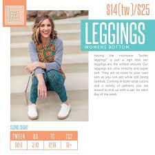 Tc Lularoe Size Chart Lularoe Leggings Lularoestephanieschettlercumming Adult