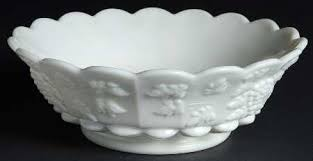 Grape Pattern Milk Glass Fascinating Westmoreland Paneled Grape Milk Glass At Replacements Ltd Page 48