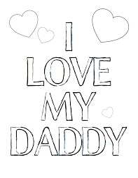 Small Picture I Love You Daddy Coloring Pages RedCabWorcester RedCabWorcester