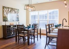 dining room in town house in wausau wisconsin