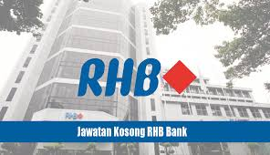 Jawatan Kosong di RHB Bank Malaysia - 25 Januari 2017