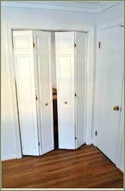 bifold closet doors installation closet door doors install pull location knobs placement bifold door installation cost