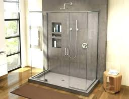 shower base x five piece barrier free with 1 inch 48 60 post custom pan tile base gray shower bases 48 x 60