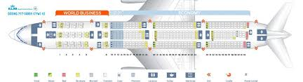 klm fleet boeing 777 300er details and