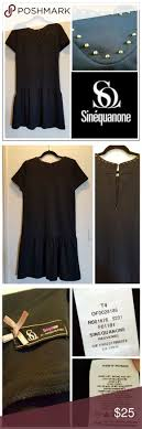 Parisian Fashion Lbd Studded Fit N Flare Black Shift Dress
