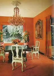 the dining room of san francisco mansion built in 1850 featured in the june 1967