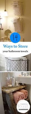 Best 25+ Small bathroom storage ideas on Pinterest   Small ...