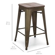 set of 4 bar stools. 24\ Set Of 4 Bar Stools
