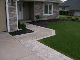 Widening the driveway and walkway with paver stones instead of redoing the  whole driveway. we