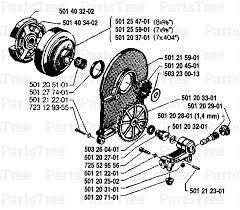 husqvarna 77 husqvarna chainsaw 1987 12 oil pump clutch husqvarna 77 husqvarna chainsaw 1987 12 oil pump clutch diagram and parts list partstree com