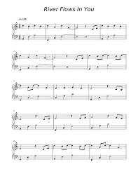 He was born on 15 february 1978. Print And Download In Pdf Or Midi River Flows In You Free Sheet Music For Piano Made By Isomnia River Flow In You Free Sheet Music Piano Sheet Music