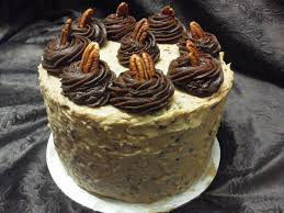 Decorated German Chocolate Cake German Chocolate Cake Birthday Gifts Delivered