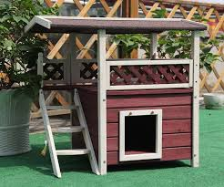 outdoor heated cat house outdoor cat shelters and feeding stations indoor cat houses wayfair outdoor cat furniture outdoor cat houses for