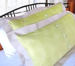 reimagine  renovate doubleflange pillow shams in spring