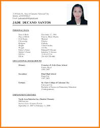 Saleslady Resume Sample Resume For Study