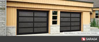 model california 9 x 7 black aluminum frame tinted glass