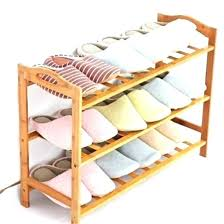 bed bath and beyond shoe rack nz storage under the organizer 3 tier shoes stand natural bamboo closet