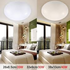 cool lighting for room. LED Ceiling Lights Dia 260mm Acrylic Warm White Cool 20W 30W 40W Modern Lamp Lighting For Room