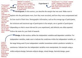Apa Style How To Teaching Apa Style An Apa Template Paper The Learning Scientists
