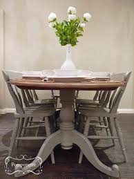 f a11b55ece34e1f02b918efb42a dining table oval chalk painted kitchen table and chairs