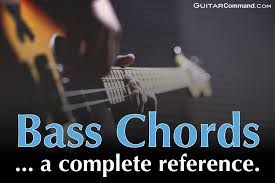 Bass Chords Diagrams Tab How To Play Chords On Your Bass
