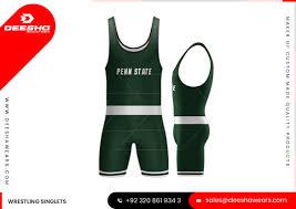 Wrestling Singlet Design Maker Custom Wrestling Singlets Deesha Industries Pakistan
