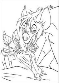 Small Picture Lion King Hyenas Coloring pages Pinterest Hyena and Coloring