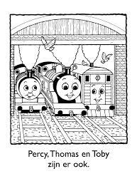 Kleurplaten Thomas De Trein Percy Archidev Idee Kleurplaten Thomas