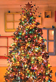 amazing christmas trees | Awesome Christmas Tree Decorating Ideas Beauty  Colorfull Lightning .