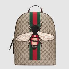 gucci backpack. web animalier backpack with bee gucci